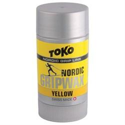 Мазь держания TOKO Nordic (0-2 С), Yellow, 25 g - фото 17622
