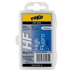 Мазь скольжения TOKO HF, (-9-30, -10-30 C), Blue, 40 g - фото 17628
