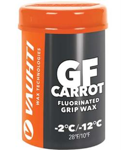 Мазь держания VAUHTI GFluor old snow, (-2-12 C), Carrot K18, 45 g - фото 17640