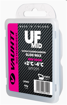 Мазь скольжения VAUHTI Ultra Mid, (+2-4 C), 45 g - фото 17716