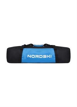 Чехол для лыжероллеров NORDSKI Black/Blue - фото 18441