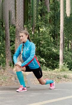 Ветровка NORDSKI Premium Run женская Blue/Red - фото 18833