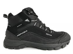 Мужские ботинки трекинговые EDITEX Amphibia WP Black - фото 19388