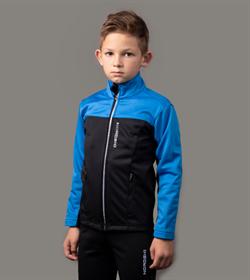 Куртка разминочная NORDSKI Activ Junior Blue/Black - фото 19974