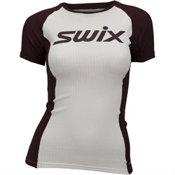 Футболка SWIX RaceX Light SS женская white bordo - фото 20449
