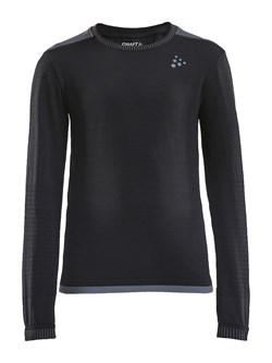 Рубашка CRAFT Fuseknit Comfort детская Black - фото 20605
