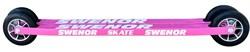 Лыжероллеры SWENOR Skate коньковые Pink, колесо №3 - фото 21209