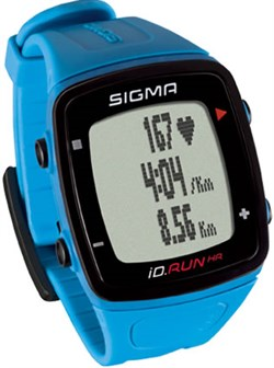 Часы SIGMA ID.RUN HR Blue, 10 функций (GPS, пульс.на часах) - фото 21313
