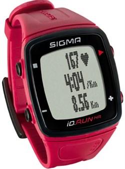 Часы SIGMA ID.RUN HR Rouge, 10 функций (GPS, пульс.на часах) - фото 21315