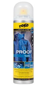 Водоотталкивающее средство для одежды TOKO Textile Proof, 250 ml - фото 21325