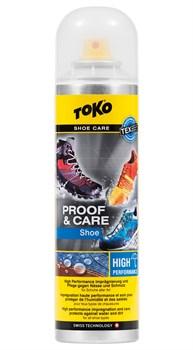 Пропитка для спортивной обуви TOKO Shoe Proof & Care, 250 ml - фото 21331