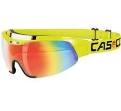 Очки-козырек CASCO Spirit Carbonic neonyellow/rainbow - фото 21340