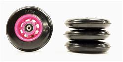 Колесо MARWE Skating 100 X 25 mm Urethane Pink - фото 21534