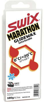 Мазь скольжения SWIX Marathon White DHF104, (0+20 C), с крышкой 180 g - фото 21562