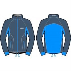 Куртка KV+ Cross разминочная Gre/Blue - фото 21616