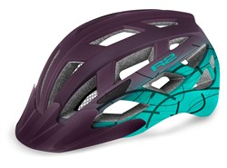 Шлем R2 LUMEN JR matt purple/blue mint