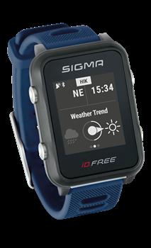 Часы SIGMA ID.FREE Blue, 7 профилей (GPS, пульс.на часах) - фото 21713