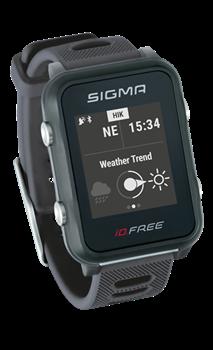 Часы SIGMA ID.FREE Gray, 7 профилей (GPS, пульс.на часах) - фото 21715