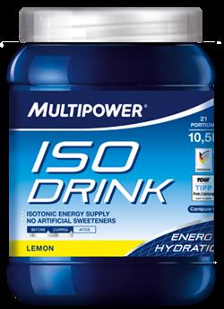 Элитный спортивный изотонический напиток Multipower ISO Drink Лимон - фото 8546