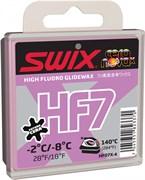 Мазь скольжения SWIX HF7X, (-2-8 C), Violet, 40 g