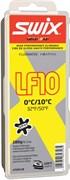 Мазь скольжения SWIX LF10X, (+10-0 C), Yellow, с крышкой, 180 g