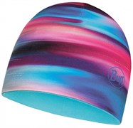 Шапка BUFF MICROFIBER REVERSIBLE R-LUMINANCE MULTI - SCUBA BLUE