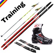 Комплект беговых лыж Training Tisa/Salomon/Spine/STC
