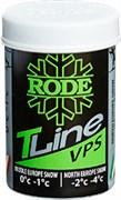 Мазь лыжная RODE TopLine, (0-1 С), 45g