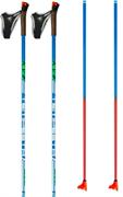Палки лыжные KV+ TEMPESTA, Clip Blue 90% Carbon 8P007Q