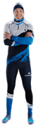 Гоночный костюм Nordski Premium Deep Blue/White