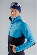 Лыжный разминочный джемпер мужской NORDSKI Premium BLUE/BLACK