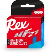 Мазь скольжения REX HF 21, (-2-8 C), Blue, 40g