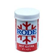 Мазь лыжная RODE, (+2-0 С), Rot Extra, 45g