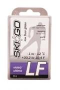 Мазь скольжения SKIGO LF, (-1-12 C), Violet 60 g (старый снег)