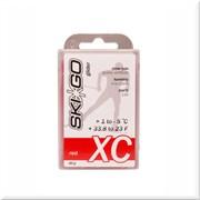 Мазь скольжения SKIGO XC, (+1-5 C), Red 60 g (исскуств.снег)