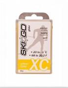 Мазь скольжения SKIGO XC, (+20-1 C), Yellow 60 g
