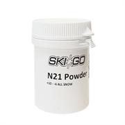 Прессовка SKIGO N21, (+10-6 C), White 20 g