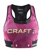 Бюстгальтер CRAFT Pulse Pink/Black