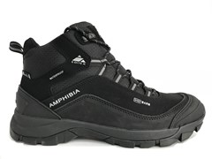 Ботинки трекинговые EDITEX Amphibia WP Jr Black