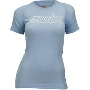 Футболка SWIX RaceX Light SS женская Bluebell