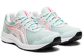 Кроссовки ASICS GEL-CONTEND 7 GS aqua/white