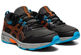 Кроссовки ASICS GEL-VENTURE 8 GS Black/Marigold Orange