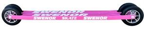 Лыжероллеры SWENOR Skate коньковые Pink, колесо №3