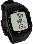 Часы SIGMA ID.RUN HR Black, 10 функций (GPS, пульс.на часах)