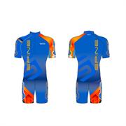 Костюм для лыжероллеров SPINE pro Canyon Summer синий/оранжевый