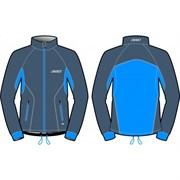 Куртка KV+ Cross разминочная Gre/Blue