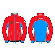 Куртка KV+ Cross разминочная red/blue