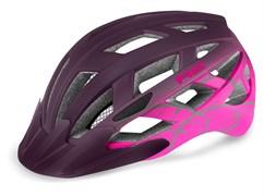 Шлем R2 LUMEN JR matt purple/pink