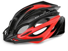 Шлем R2 PRO-TEC matt black/red