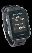 Часы SIGMA ID.FREE Gray, 7 профилей (GPS, пульс.на часах)
